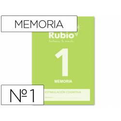 Cuaderno Rubio Memoria 1 Estimulación Cognitiva 20 páginas