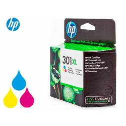 Cartucho HP 301XL Tricolor CH564EE