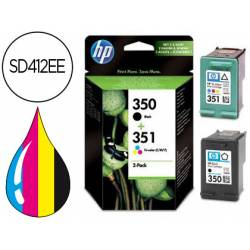 Cartucho HP 350 y 351 SD412EE