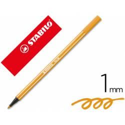 Rotulador Stabilo 68/54 Naranja 1 mm