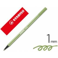 Rotulador Stabilo 68/43 color Verde hoja 1 mm