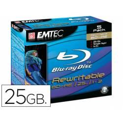 Dvd BD-RE Emtec capacidad 25 GB