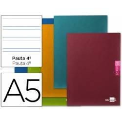 Libreta escolar Liderpapel Scriptus pauta 3.5 mm tamaño DIN A5
