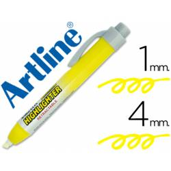 Rotulador Artline clix amarillo fluorescente 4mm