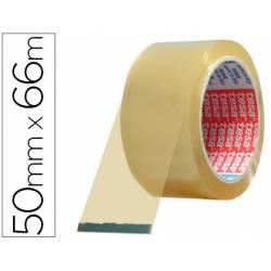 Cinta adhesiva tesa pvc color transparente 66mtsx50mm