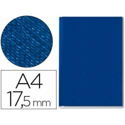 Tapa de Encuadernación Cartón Leitz A4 Azul 175 hojas