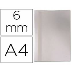 Carpeta termica GBC Pvc y cartulina color blanco 6 mm pack 100 unidades