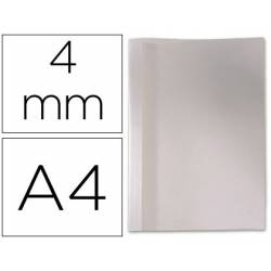 Carpeta termica GBC Pvc y cartulina color blanco 4 mm pack 100 unidades