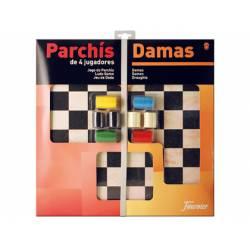 Juego de mesa Parchis + Damas Fournier