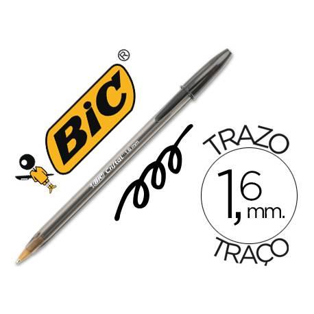 Boligrafo Bic Cristal X-Large Negro 1,6