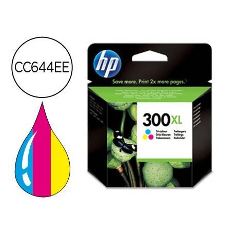 Cartucho HP 300XL Tricolor CC644EE