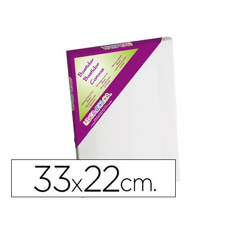 Bastidor Lienzo Lidercolor 33x22 cm