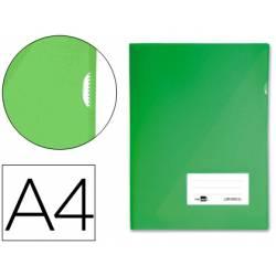 Funda dossier uñero con solapa Liderpapel Din A4 verde