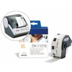 Etiquetas impresora Brother DK-11218