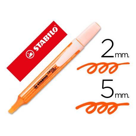 Rotulador Swing Cool Stabilo Color Naranja