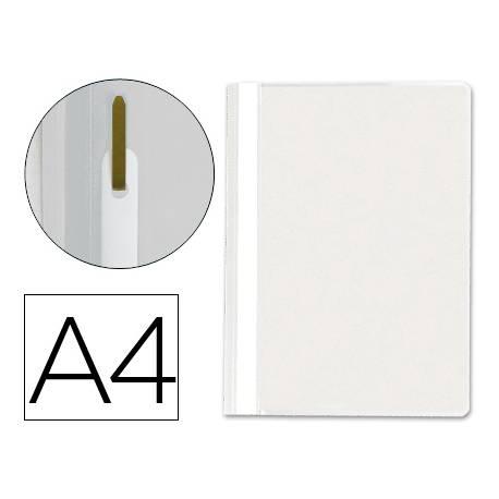 Carpeta dossier fastener Q-Connect Din A4 blanco