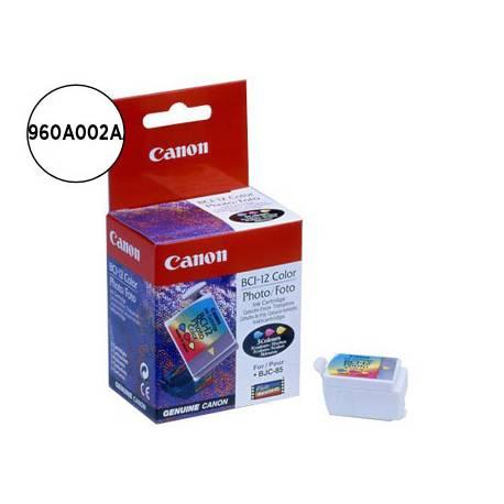 Cartucho Canon 0960A002AA BCI‑12CL Negro