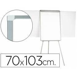 Pizarra Q-Connect trípode marco aluminio 70x103 cm