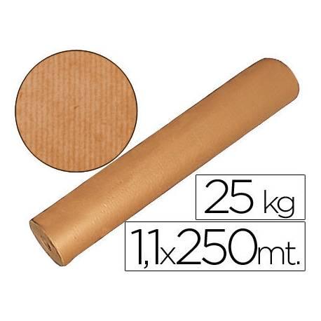 Bobina papel kraft Fabrisa 1,10 x 2,50 m marron