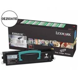 Tóner Lexmark 0E250A11E Negro