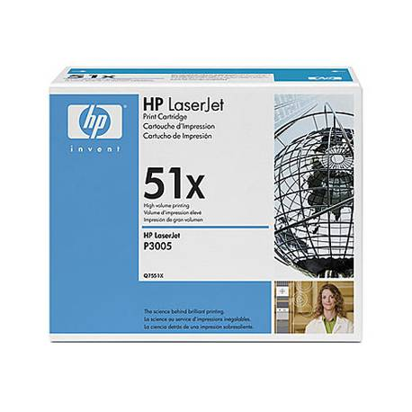 Toner HP 51X Q7551X color Negro