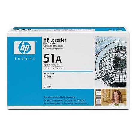 Toner HP 51A Q7551A Negro