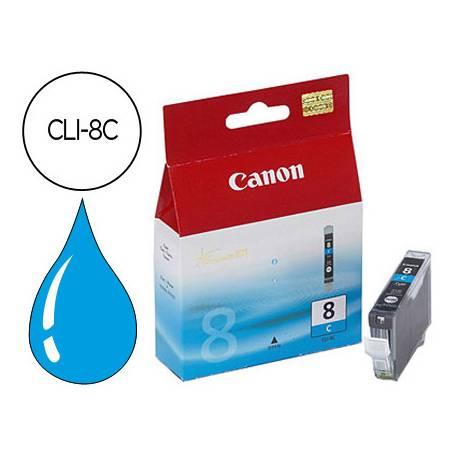 Cartucho Canon 0621B001 Nº CLI-8C Cian