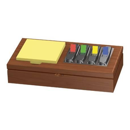 Portatacos para bloc de notas y banderitas separadoras