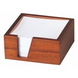 Portatacos de notas de madera