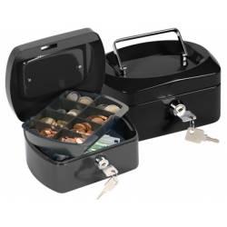 Caja con bandeja portamonedas Q-Connect