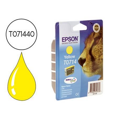 Cartucho Epson T071440 Amarillo