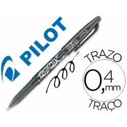 Boligrafo Borrable roller Pilot Frixion 0,4 mm Color Negro