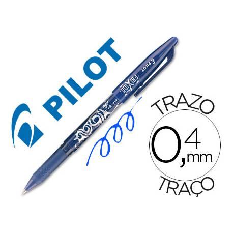 Boligrafo Borrable roller Pilot Frixion 0,4 mm Color Azul