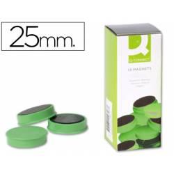 Imanes de sujeción verde Q-Connect