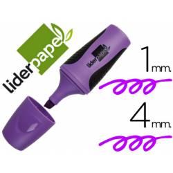 Rotulador Liderpapel mini violeta