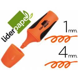 Rotulador Liderpapel mini naranja