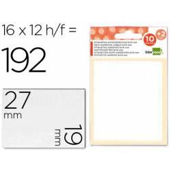 Etiquetas Adhesivas Liderpapel Obsequio 19 x 27 mm