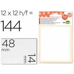 Etiquetas Adhesivas Liderpapel Obsequio 14 x 48 mm