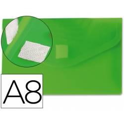 Carpeta sobre Liderpapel con cierre de velcro A8