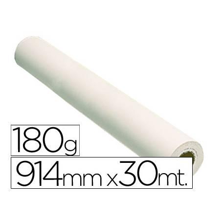 Papel fotografico brillo reprografia Plotter 180 g/m2, 914 mm x 30 m.