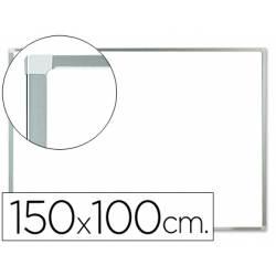 Pizarra Blanca Lacada Magnetica marco de aluminio 150X100 Q-Connect