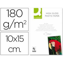 Q-Connect Foto Glossy 180 g/m2 100x150 mm