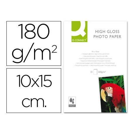 Q-Connect Foto Glossy 180 g/m2 100x150 mm