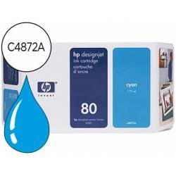 Cartucho HP 80 Cian C4872A
