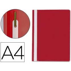 Carpeta dossier fastener Q-Connect Din A4 rojo