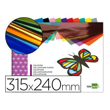 Bloc de papel celofan marca Liderpapel