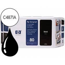 Cartucho HP 80 Negro C4871A