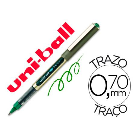 Boligrafo Uni-Ball UB-157 0,5 mm Verde