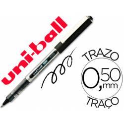 Rotulador-bolígrafo Uni-Ball negro UB-150 0,3 mm