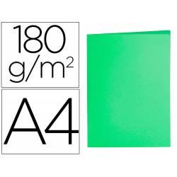 Subcarpeta cartulina Din A4 Liderpapel verde